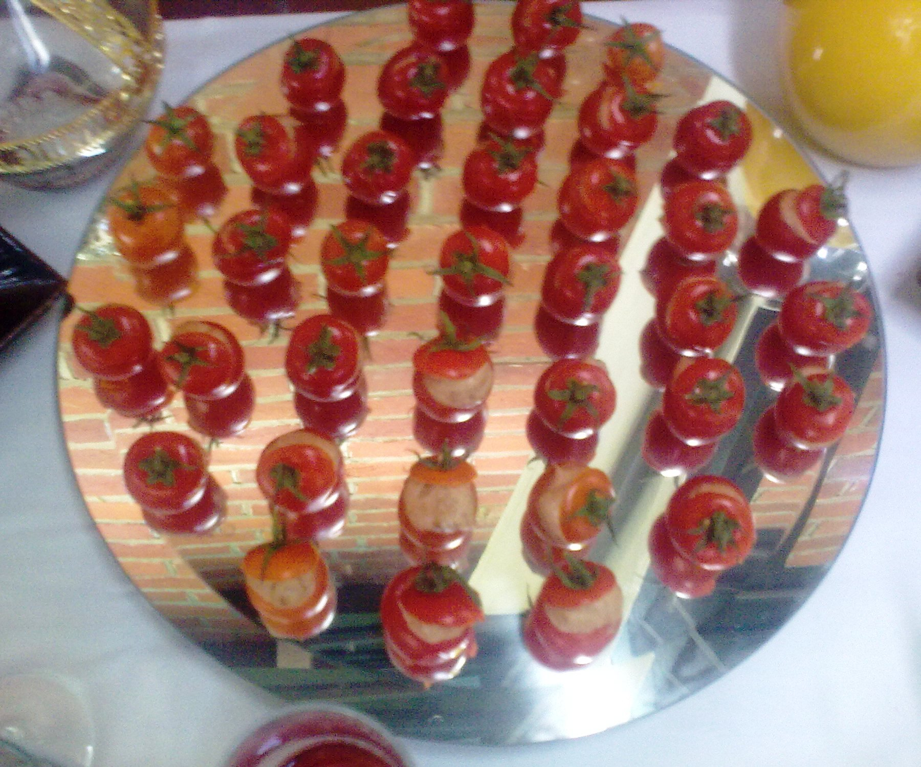 Sample canape menu for any hospitality function canape for Canape companies