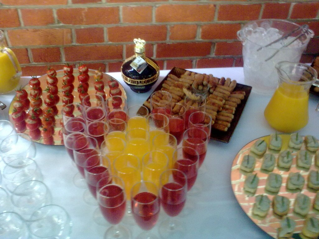 Sample canape menu for any hospitality function canape for Canape catering services